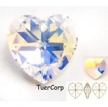 Zdjęcie - 6228 heart pendant, SWAROVSKI, crystal AB,