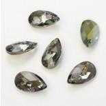 Zdjęcie - 6106 almond pendant , SWAROVSKI, irdescent green,