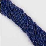 Zdjęcie - Lapis lazuli kulki fasetowane