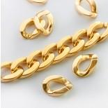 Zdjęcie - Ogniwo łańcucha akrylowe złote