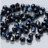 Zdjęcie - Fire Polish Marbled Lt. Blue/Black (67019)