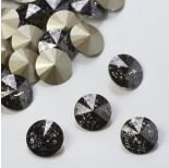 Zdjęcie - 1122, rivoli stone, SWAROVSKI, black patina