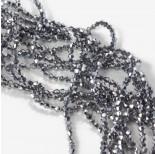 Zdjęcie - Kryształki bicone full silver