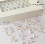 Zdjęcie - Kryształy Rhinnes ring cut crystal AB