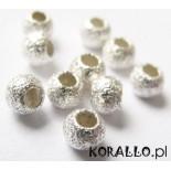 Zdjęcie - Kulki srebrne diamentowe, próba Ag925