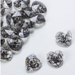 Zdjęcie - 6228, heart pendant, SWAROVSKI, black patina