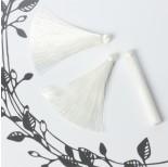 Zdjęcie - Chwost z wiskozy biały