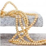 Zdjęcie - Hematyt platerowany kulka gładka satynowa light gold