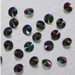 Zdjęcie - 1122 Swarovski rivoli stone Crystal Rainbow Dark