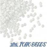 Zdjęcie - Koraliki TOHO Round Opaque White