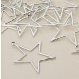 Zdjęcie - Zawieszka gwiazda wycięta satynowa