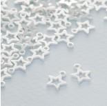 Zdjęcie - Srebrna zawieszka gwiazdka wycięta ag925