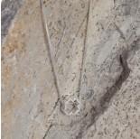 Zdjęcie - Srebrny koralik rodowany koniczynka, próba Ag925
