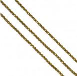 Zdjęcie - Hematyt kulki platerowane fasetowane złote