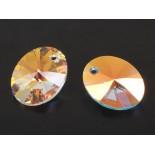Zdjęcie - 6028 oval pendant, Swarovski, crystal AB