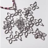 Zdjęcie - Zawieszka ze stali chirurgicznej czterolistny kwiatek