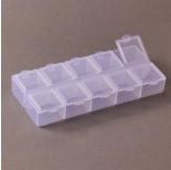 Zdjęcie - Pudełko do koralików 10 przegródek