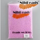 Zdjęcie - Koraliki NihBeads Opaque Dyed Impatient Pink