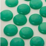 Zdjęcie - Jadeit kaboszon krążek zielony