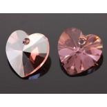 Zdjęcie - 6228 heart pendant, SWAROVSKI light rose