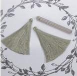 Zdjęcie - Chwost z wiskozy oliwkowy