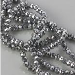 Zdjęcie - Kryształki oponki fasetowane nickiel