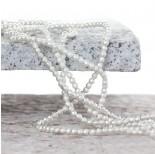 Zdjęcie - Hematyt platerowany kulka fasetowana satynowa light silver