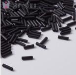 Zdjęcie - Koraliki Miyuki Bugles #2 6 mm Black Matted