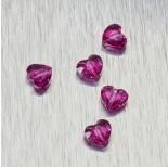 Zdjęcie - 5741 Swarovski love bead Fuchsia