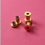 Zdjęcie - Tuleja rozkręcana ze stali chirurgicznej do drobnych koralików złota