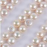 Zdjęcie - Perły naturalne do kolczyków białe