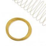 Zdjęcie - Drut pamięciowy nickiel free na bransoletkę złoty