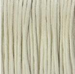 Zdjęcie - Sznurek bawełniany woskowany ecru