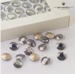 Zdjęcie - Kryształy Rhinnes flat diamond hematite