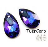 Zdjęcie - 6106 almond pendant, SWAROVSKI, heliotrope,