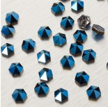 Zdjęcie - 5060 Hexagon Spike bead metalic blue