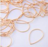 Zdjęcie - Baza geometryczna ze stali chirurgicznej łezka złoty