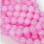 Zdjęcie - Jadeit marmurkowy kulki różowe