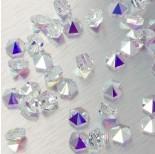 Zdjęcie - 5060 Hexagon Spike bead crystal AB