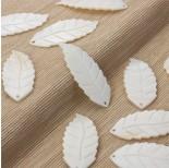 Zdjęcie - Masa perłowa zawieszka liść