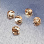 Zdjęcie - 5052 Swarovski mini round bead Golden Shadow