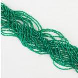 Zdjęcie - Agat zielony kulka fasetowana