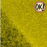 Zdjęcie - Koraliki SeedBeads Round Transparent Yellow