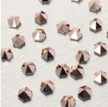 Zdjęcie - 5060 Hexagon Spike bead rose gold