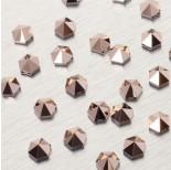 Zdjęcie - 5060 Hexagon Spike bead rose gold