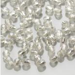 Zdjęcie - Fire Polish Silver Lined - Crystal (SL00030)