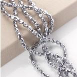 Zdjęcie - Hematyt czaszka jasne srebro