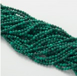 Zdjęcie - Malachit naturalny kulka fasetowana zielona