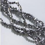Zdjęcie - Kryształki bicone silver