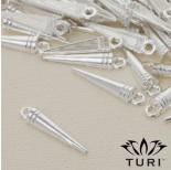 Zdjęcie - Zawieszka szpikulec w srebrnym kolorze